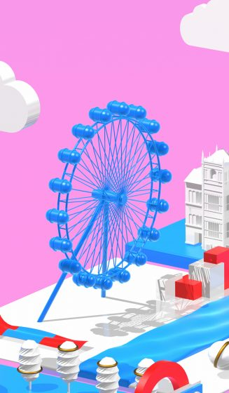 London-AlexBonnin 3D Cinema 4D