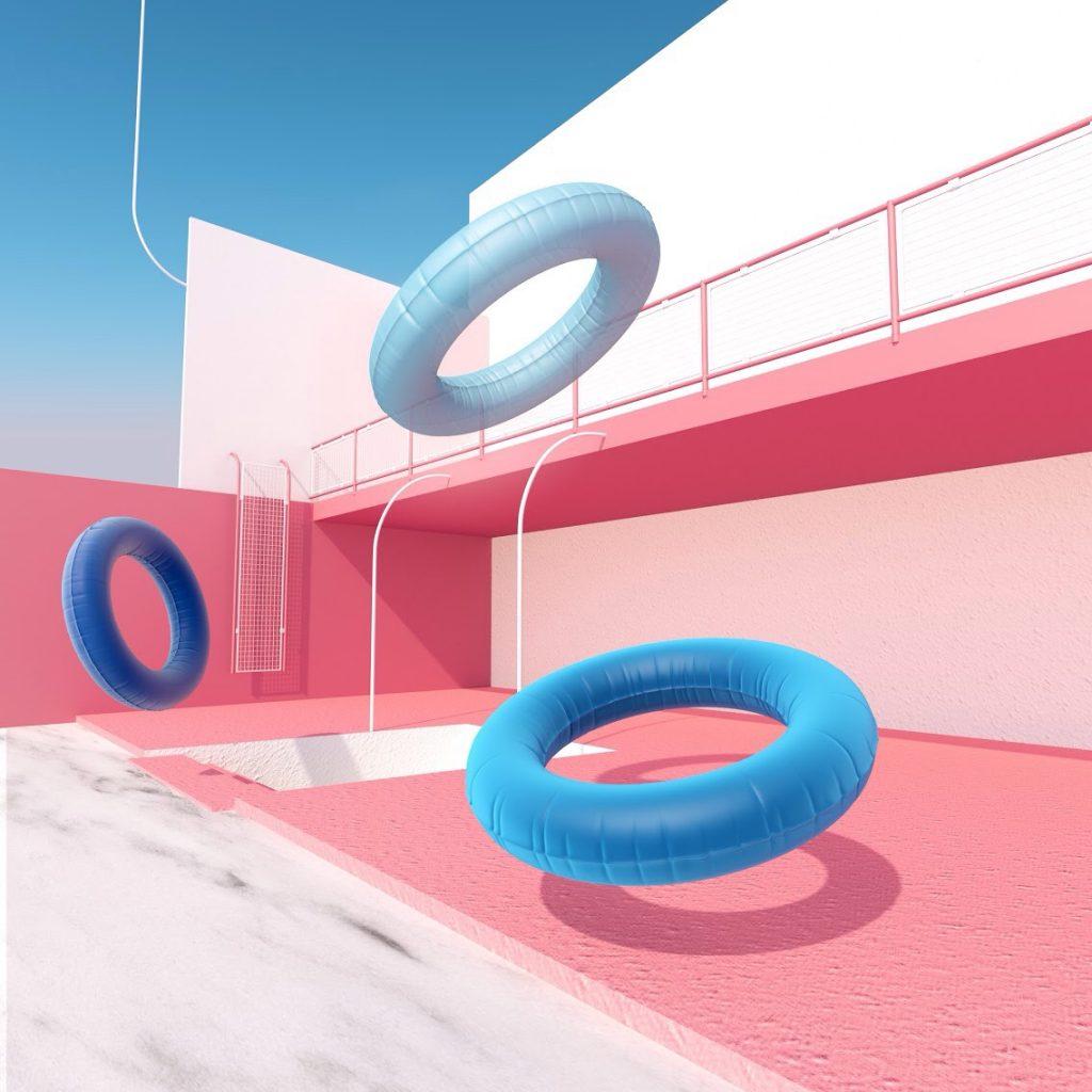Environments-AlexBonnin 3D Cinema 4D