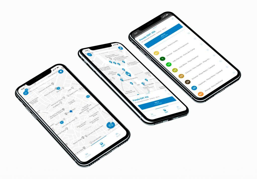 MobiPalma - AlexBonnin UI Design Palma mobility app features