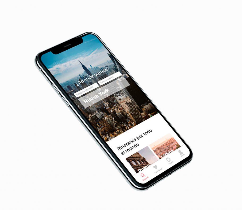 Travel app-AlexBonnin UI Design app features